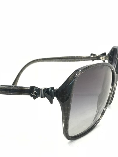 Chanel Square Frame Bow Sunglasses-5205 Image 3
