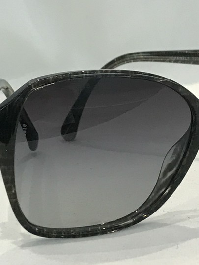 Chanel Square Frame Bow Sunglasses-5205 Image 6