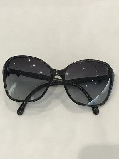Chanel Square Frame Bow Sunglasses-5205 Image 8