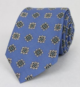 Gucci Royal Blue Men's Floral Silk W/Habutai Print 368199 4362 Tie/Bowtie