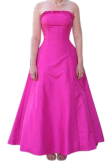 Preload https://img-static.tradesy.com/item/23429116/alfred-angelo-fuchsia-strapless-embellished-ball-gown-long-formal-dress-size-8-m-0-1-650-650.jpg