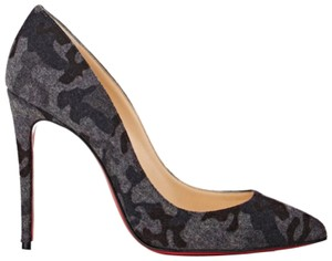 0186d0d2ab23 Grey Christian Louboutin Pumps - Up to 90% off at Tradesy