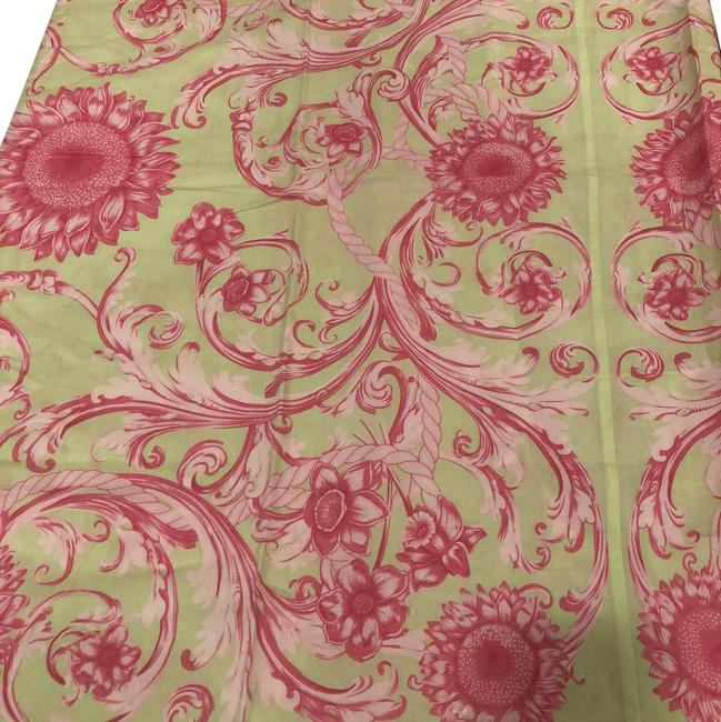 Item - Green and Pink Dress Scarf/Wrap