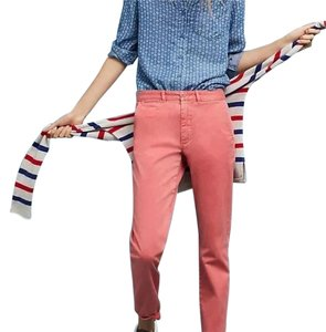Anthropologie Relaxed Pants Salmon
