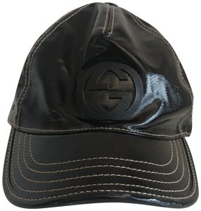 Gucci Patent Leather GG Baseball Cap
