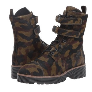 Shellys London Camouflage Boots