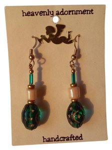Other Handmade Beaded French Hook Dangle Drop Earrings