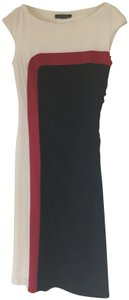 Lauren Ralph Lauren Color Form Fitting Rouging Dress