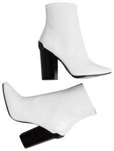 Kendall + Kylie Leather Haedyn white Boots