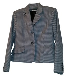 Harve Benard, Benard Holtzman Houndstooth Black and white women's pant suit