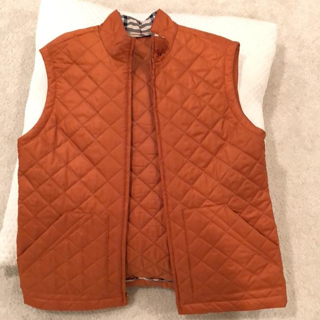 Burberry Classic Quilted Check Vest Image 6