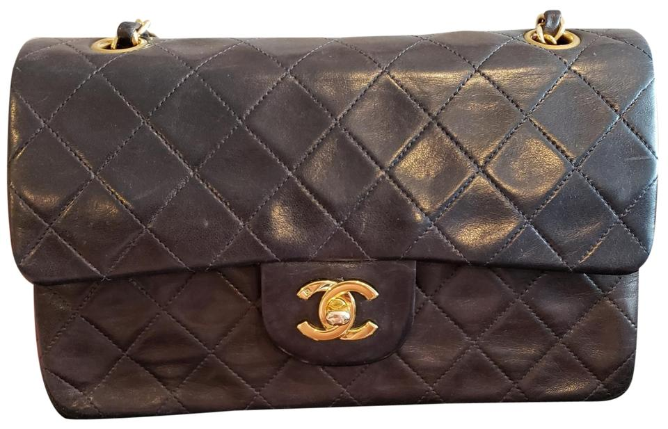 8493390f7693 Chanel Classic Flap 2.55 Reissue Vintage Medium Gold Hardware Black ...