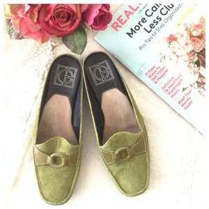 Cole Haan apple green Mules