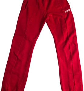 Vetements Straight Pants red