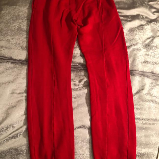 Vetements Straight Pants red Image 4