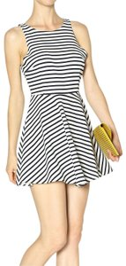 Lucy Love short dress Navy Blue and White Striped Sundress Summer on Tradesy