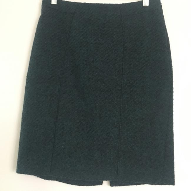 Banana Republic Skirt Green, Black Image 4