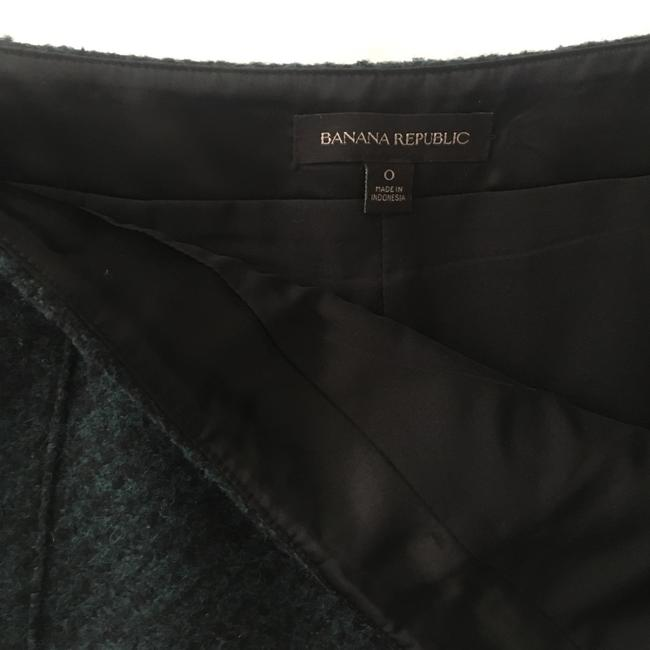 Banana Republic Skirt Green, Black Image 8