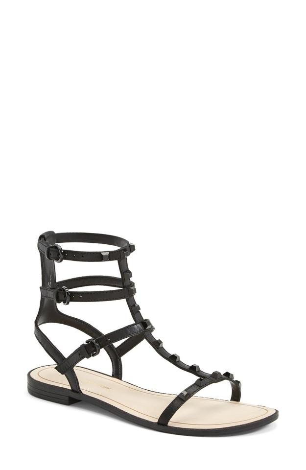 cde8646ff228 Rebecca Minkoff Black Leather Georgina Gladiator Sandals Size US 7 ...