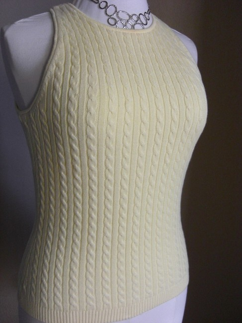 Gap Cable Knit Sleeveless Tank Sweater Image 2