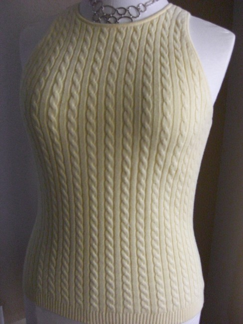 Gap Cable Knit Sleeveless Tank Sweater Image 3