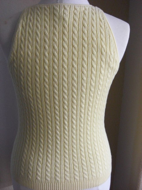 Gap Cable Knit Sleeveless Tank Sweater Image 5