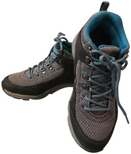 Vionic Hiking Sneaker Grey & Teal Boots
