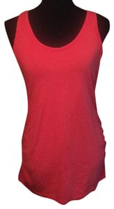 4bdd14bcdfd89 Motherhood Maternity Red Orange Ruched Maternity Top Size 8 (M ...