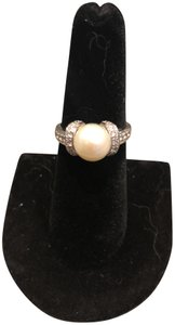 Honora Honora Cultured Pearl 9.5mm Sterling Silver Ring - Size 7