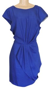 Julie Dillon Nordstroms Empire Waist Cobalt Nwt Dress
