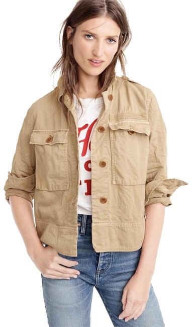 Item - Beige Safari Shirt Jacket Size 4 (S)