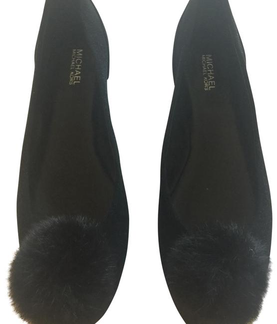 Item - Black Suede Flats Size US 7.5 Regular (M, B)