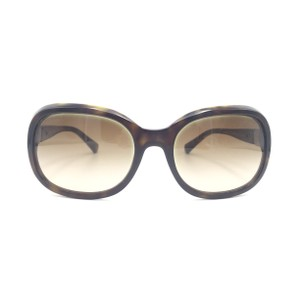 Chanel Rectangular Havana Brown Signature Gradient Sunglasses 5286 714S5
