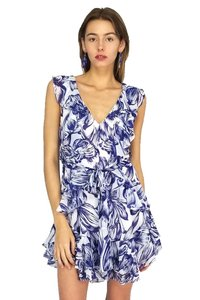 Olivaceous short dress blue P.s. I Love on Tradesy