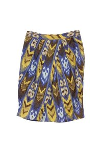 Tory Burch Tribal Print Pencil Skirt