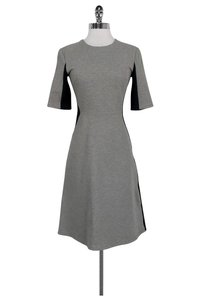 Richard Nicoll short dress Grey Navy Flared on Tradesy