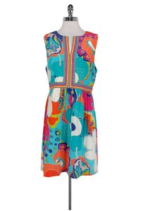 Trina Turk short dress Vibrant Floral on Tradesy