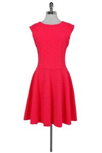Ted Baker short dress Pink Neon Flared on Tradesy