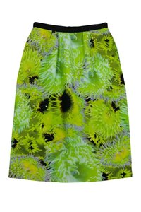 Tibi Floral Skirt Green