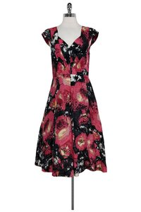 Tracy Reese short dress Multicolor Paint Brush Floral on Tradesy