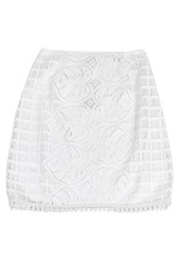 Lilly Pulitzer Leafy Palm Lace Pencil Skirt White