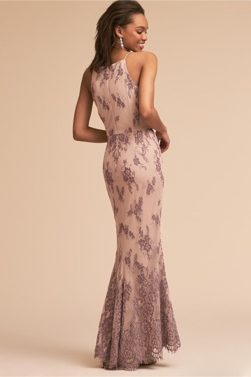 BHLDN Nude/Lavender Nylon/Polyester/Lace Chrissy Style #44634087 Formal Bridesmaid/Mob Dress Size 6 (S) Image 1