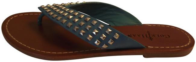 Cole Haan Turquoise New Sandals Size US 7.5 Regular (M, B) Cole Haan Turquoise New Sandals Size US 7.5 Regular (M, B) Image 1
