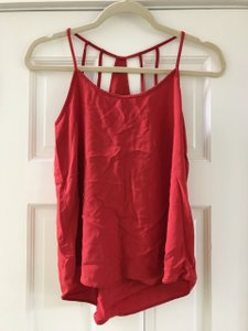 Mudd Straps Top Red