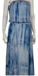 blue Maxi Dress by Pookie and Sebastian Strappless J. Crew Maxi Summer