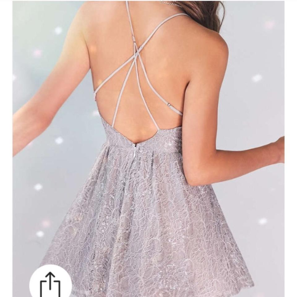 f0a525b8cdea Urban Outfitters Nude Shimmer Kimchi Blue Sweetheart Victoria Lace ...