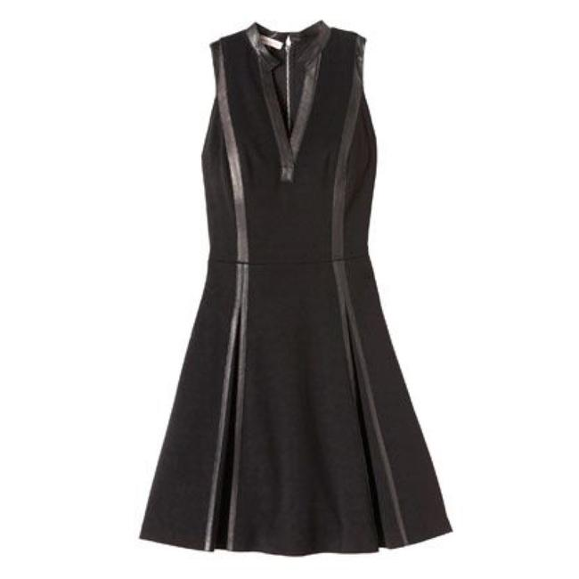 Preload https://img-static.tradesy.com/item/23433504/rebecca-taylor-leather-panel-mid-length-cocktail-dress-size-2-xs-0-1-650-650.jpg