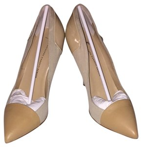 Giuseppe Zanotti Office Heels Cream Pumps
