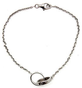 Cartier Iconic Love Double Mini Ring Charm bracelet chain