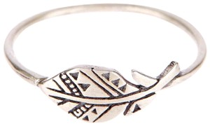 Dogeared DOGEARED STERLING SILVER PLUME RING